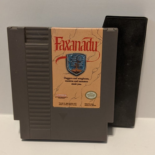 Faxanadu NES Cart (Works Great!)