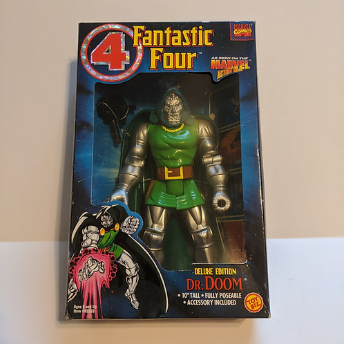 """Fantastic Four 10"""" Deluxe Figure Dr. Doom by Toy Biz"""