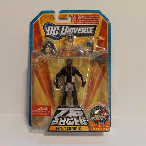 DC Universe: Mr. Terrific by Mattel