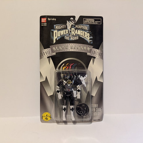 Mighty Morphin Power Rangers: The Movie Zach the Black Ranger by Bandai