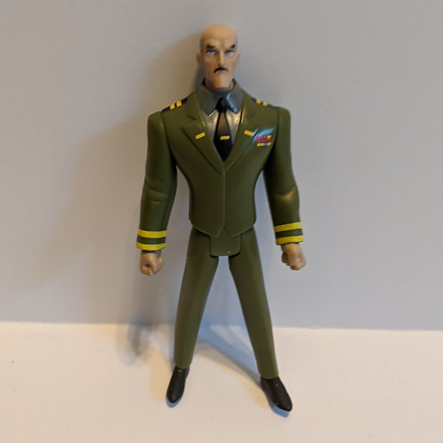 Justice League Unlimited General Eiling by Mattel (Loose)