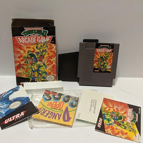 Teenage Mutant Ninja Turtles 2: The Arcade Game NES CIB (works great!)