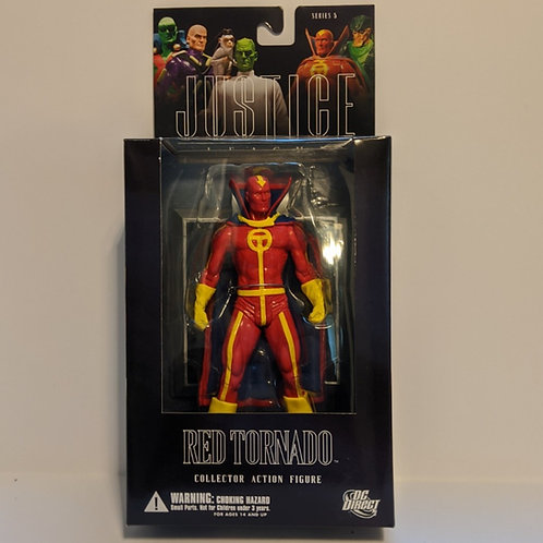 Justice League Series 5 Red Tornado by DC Direct