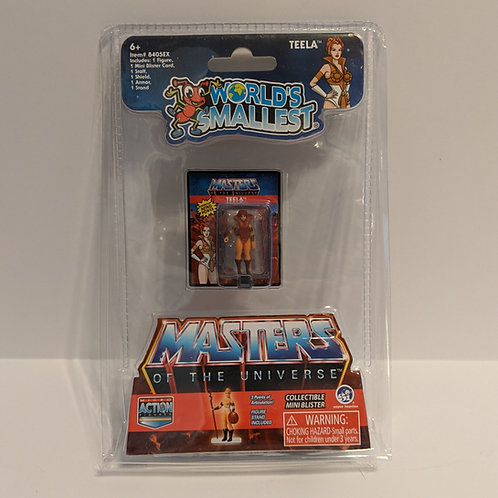 World's Smallest Teela Masters of the Universe