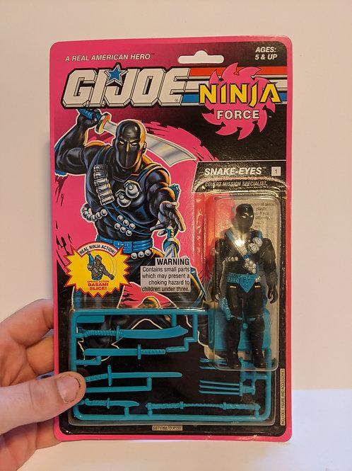 G.I. Joe Ninja Force Snake Eyes by Hasbro