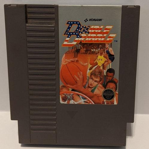 Double Dribble NES Cart by Konami (Works Great!)