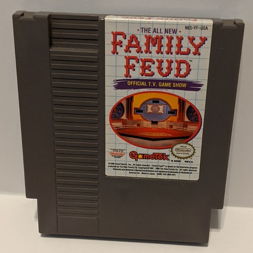 The All New Family Feud NES Cart by Gametek (works great!)