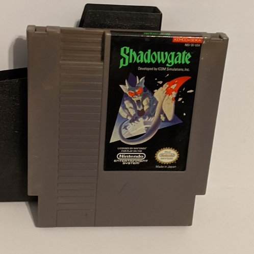 Shadowgate NES Cart w/ Sleeve by Kemco-Seika (works)
