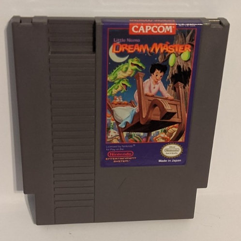 Little Nemo the Dream Master NES Game Cart by Capcom (works)