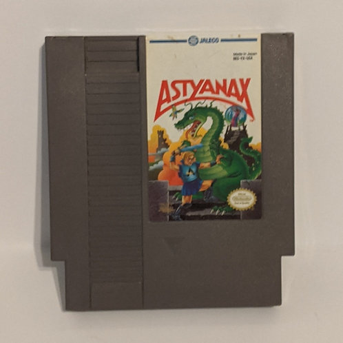 Astyanax NES Cart by Jaleco