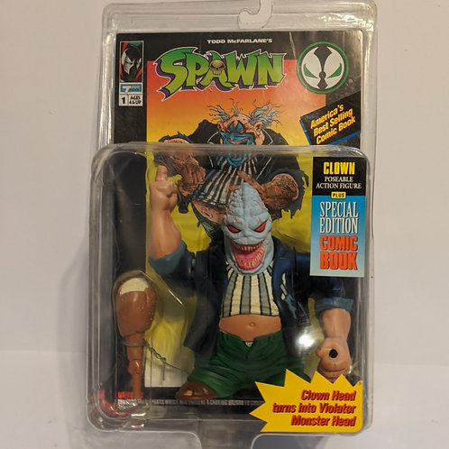 Spawn Clown w/Demon Head by Todd Toys