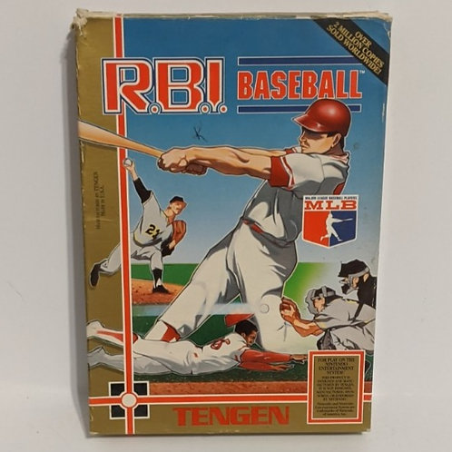 RBI Baseball NES Game Cart w/ Extras by Tengen (works)