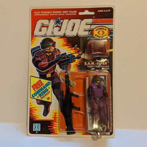 G.I. Joe S.A.W. Viper by Hasbro