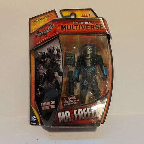 DC Comics Multiverse Batman Arkham City Mr. Freeze by Mattel