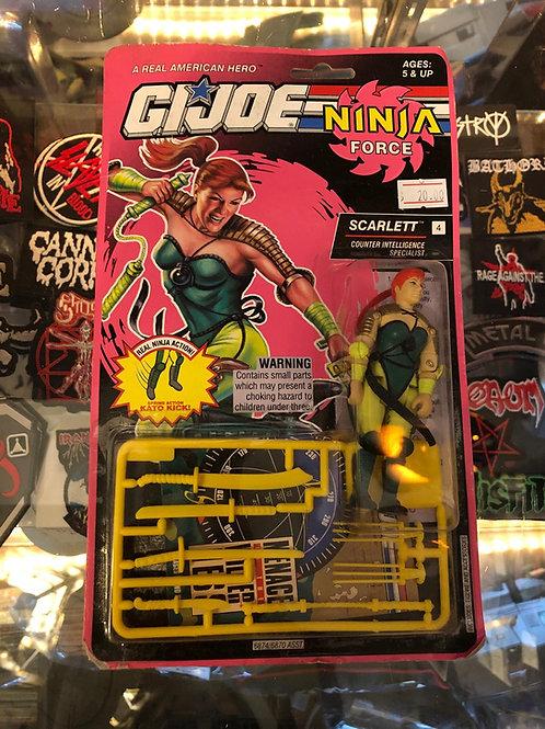 Scarlett, G.I. Joe: Ninja Force - Series 12 (1993)