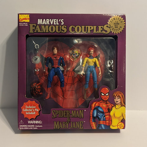 Marvel's Famous Couples: Spiderman & Mary Jane by Toy Biz