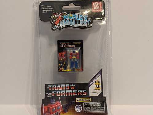 World's Smallest Optimus Prime Transformers