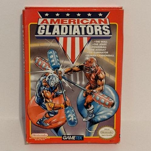 American Gladiators NES Game Cart w/ Extras by GameTek (works)