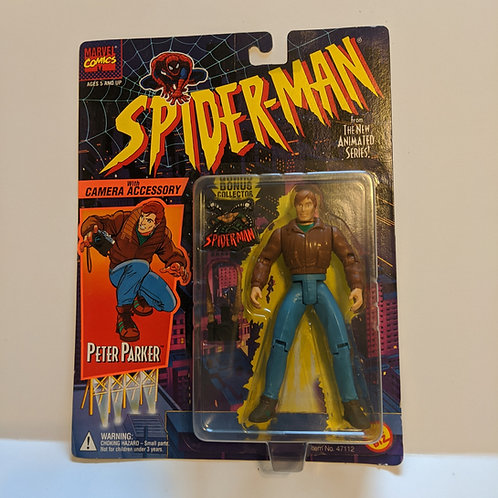 Spiderman the Animated Series Peter Parker by Toy Biz