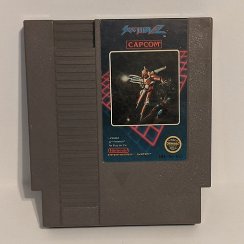 Section Z NES Cart by Capcom (Works)
