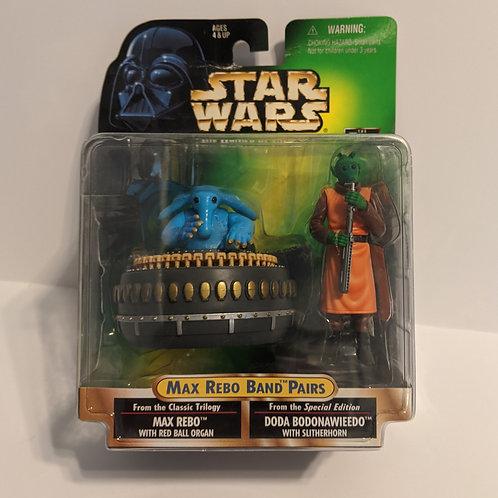 Star Wars Max Rebo Band Pairs: POTF Max & Dodo by Kenner