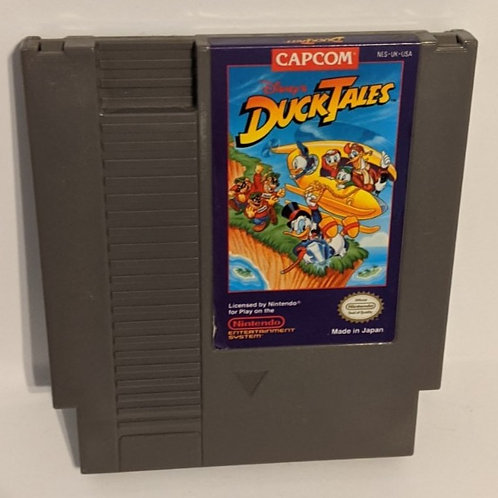 Ducktales NES Game Cart by Capcom (works)