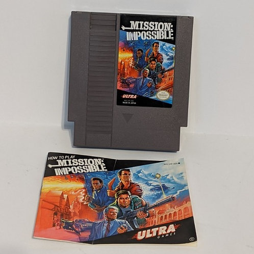 Mission Impossible NES Game Cart by Ultra Games (works)
