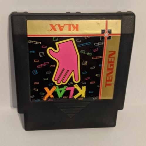 Klax NES Game Cart by Tengen (works)
