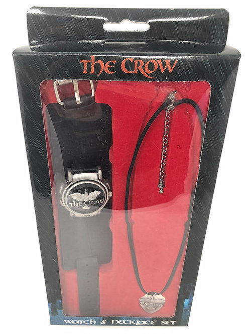 The Crow Watch and Necklace Set 2004 Neca