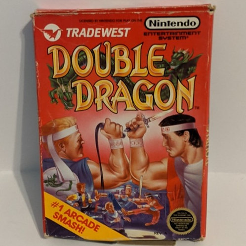 Double Dragon NES Cart w/ Extras by Tradewest (works)