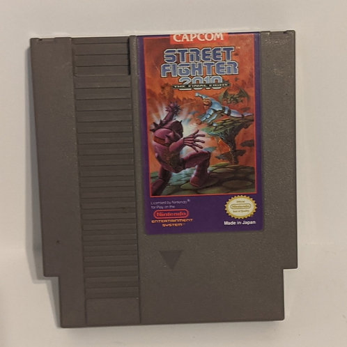 Street Fighter 2010: The Final Fight NES Cart by Capcom