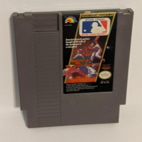 Major League Baseball NES Game Cart by LJN (works)