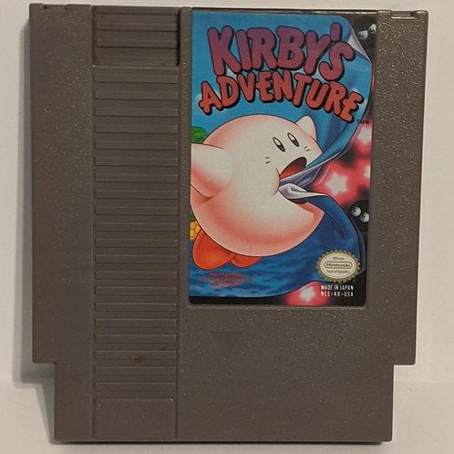 Kirby's Adventure NES Cart by Nintendo