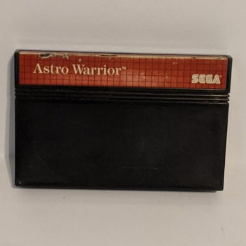 Astro Warrior SEGA Master system Game Cart (works)