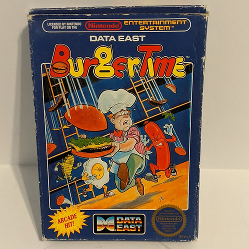 Burgertime NES Game Cartby Data East w/ Extras (works)