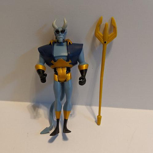 Justice League Unlimited: Blue Devil (Loose) by Mattel
