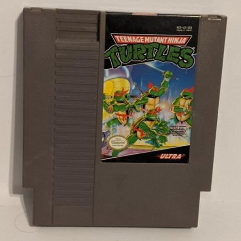Teenage Mutant Ninja Turtles NES Game Cart by Ultra Games (works)