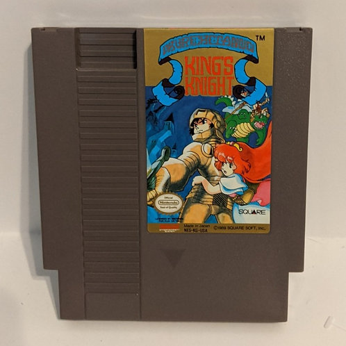 King's Knight NES Cart by Square (works)
