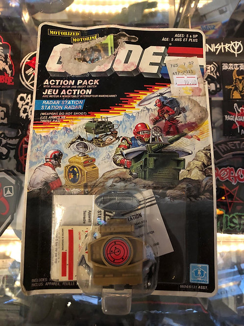 Radar Station, Action Pack Accessory G.I. Joe Series 6 (1987 France)