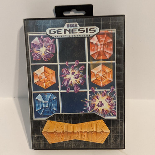 Columns Sega Genesis Game Cart w/ Extras by SEGA (works)