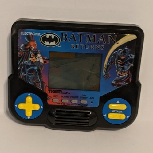 Batman Returns Tiger Handheld LCD Game (works)