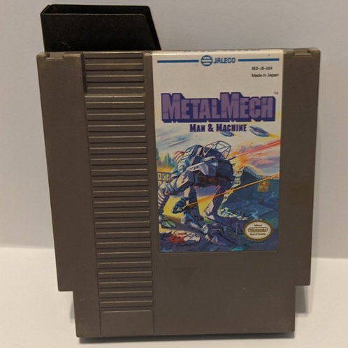 Metal Mech NES Cart by Jaleco (Works Great!)