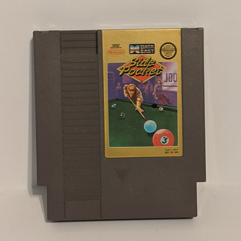 Side Pockets NES Game Cart by Data East