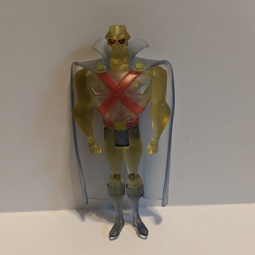 Justice League Unlimited: Martian Manhunter Clear (Loose) by Mattel