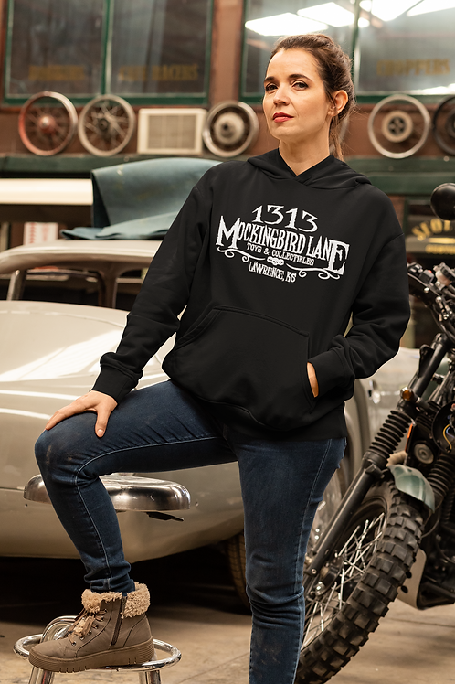 1313 MBL Unisex Pullover Hooded Sweatshirt by Gildan