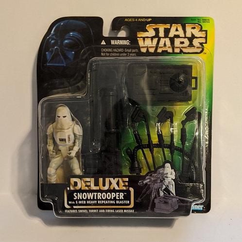 Star Wars POTF Deluxee Snowtrooper