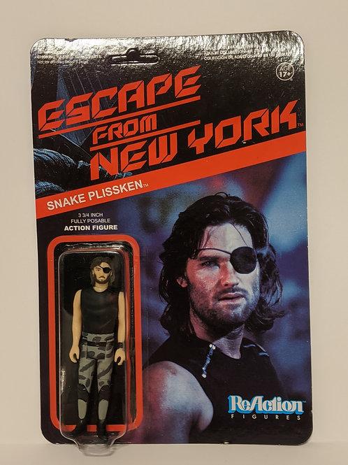 Snake Plissken Escape From New York Reaction Figure