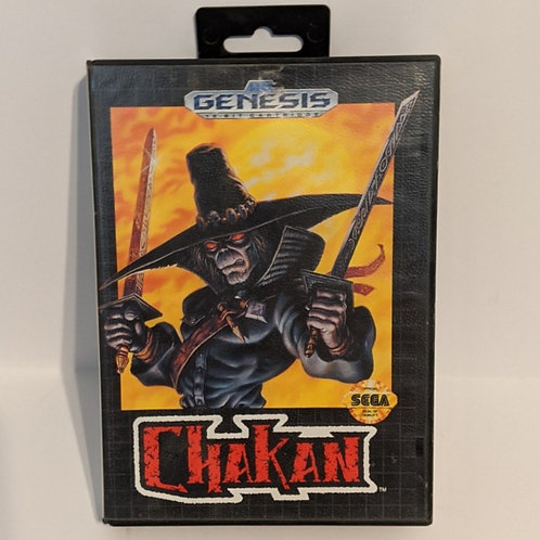 Chakan the Forever Man Sega Genesis Cart w/ Extras (works)