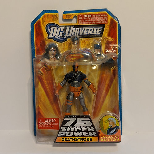 DC Universe: Deathstroke w/ Pin by Mattel