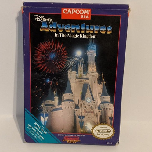 Disney's Adventures in the Magic Kingdom NES Cart w/ Extras by Capcom (works)